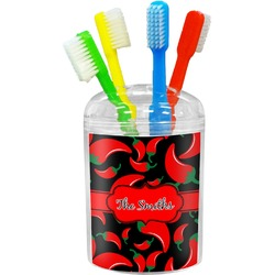 Chili Peppers Toothbrush Holder (Personalized)