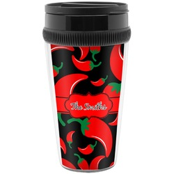 Chili Peppers Travel Mug (Personalized)