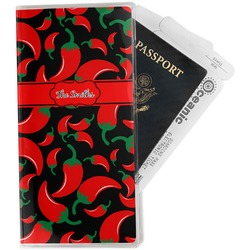 Chili Peppers Travel Document Holder