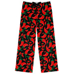 Chili Peppers Womens Pajama Pants (Personalized)