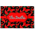 Chili Peppers Woven Mat (Personalized)