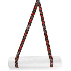 Chili Peppers Yoga Mat Strap (Personalized)
