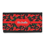 Chili Peppers Leatherette Ladies Wallet (Personalized)