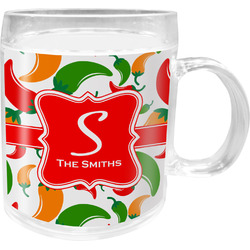 Colored Peppers Acrylic Kids Mug (Personalized)