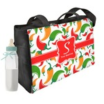 Colored Peppers Diaper Bag w/ Name and Initial