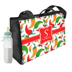 Colored Peppers Diaper Bag (Personalized)