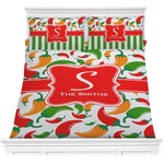 Colored Peppers Comforters (Personalized)