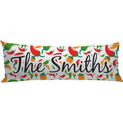 Colored Peppers Body Pillow Case (Personalized)