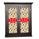 Colored Peppers Cabinet Decal - Custom Size (Personalized)