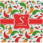 Colored Peppers Ceramic Tile Hot Pad (Personalized)
