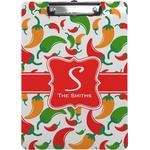 Colored Peppers Clipboard (Personalized)