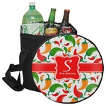 Colored Peppers Collapsible Cooler & Seat (Personalized)