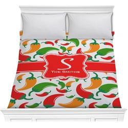 Colored Peppers Comforter (Personalized)