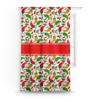 Colored Peppers Curtain (Personalized)