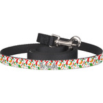 Colored Peppers Dog Leash (Personalized)