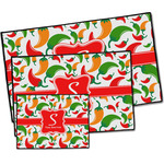 Colored Peppers Door Mat (Personalized)