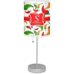 "Colored Peppers 7"" Drum Lamp with Shade (Personalized)"