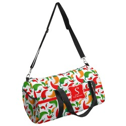 Colored Peppers Duffel Bag - Multiple Sizes (Personalized)