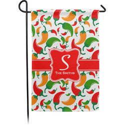 Colored Peppers Garden Flag - Single or Double Sided (Personalized)