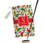 Colored Peppers Golf Towel Gift Set (Personalized)