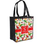 Colored Peppers Grocery Bag (Personalized)