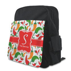 Colored Peppers Preschool Backpack (Personalized)