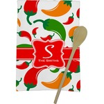 Colored Peppers Kitchen Towel - Full Print (Personalized)