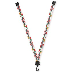 Colored Peppers Lanyard (Personalized)