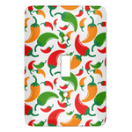 Colored Peppers Light Switch Covers (Personalized)