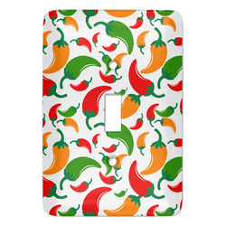 Colored Peppers Light Switch Covers - Multiple Toggle Options Available (Personalized)