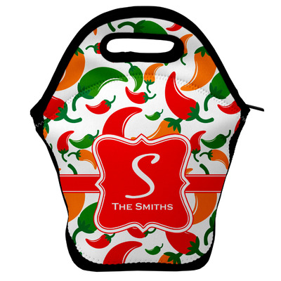Colored Peppers Lunch Bag (Personalized)