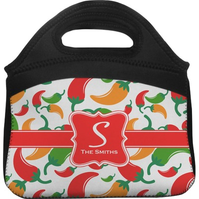 Colored Peppers Lunch Tote (Personalized)