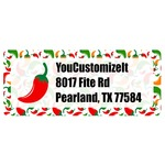 Colored Peppers Return Address Labels (Personalized)