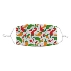 Colored Peppers Kid's Cloth Face Mask (Personalized)