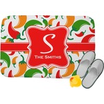 Colored Peppers Memory Foam Bath Mat (Personalized)