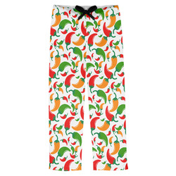 Colored Peppers Mens Pajama Pants (Personalized)