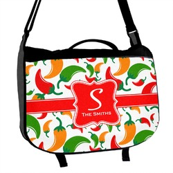 Colored Peppers Messenger Bag (Personalized)