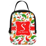 Colored Peppers Neoprene Lunch Tote (Personalized)