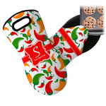 Colored Peppers Neoprene Oven Mitt (Personalized)