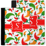 Colored Peppers Notebook Padfolio w/ Name and Initial