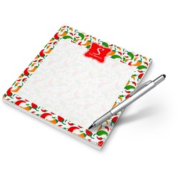 Colored Peppers Notepad (Personalized)
