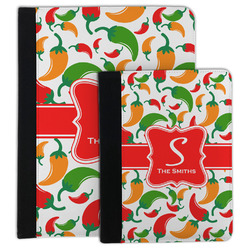 Colored Peppers Padfolio Clipboard (Personalized)