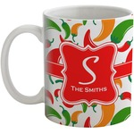 Colored Peppers Coffee Mug (Personalized)