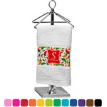 Colored Peppers Finger Tip Towel (Personalized)