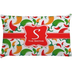 Colored Peppers Pillow Case (Personalized)