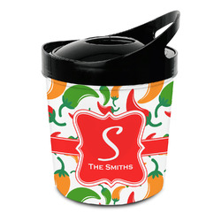 Colored Peppers Plastic Ice Bucket (Personalized)