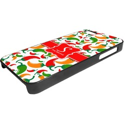 Colored Peppers Plastic iPhone 5/5S Phone Case (Personalized)