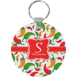Colored Peppers Keychains - FRP (Personalized)