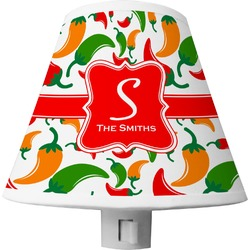 Colored Peppers Shade Night Light (Personalized)