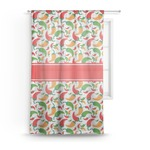 Colored Peppers Sheer Curtains (Personalized)